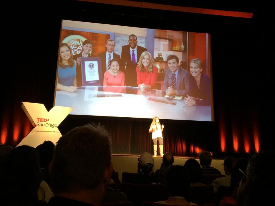 Gabi's TED talk - GMA slide