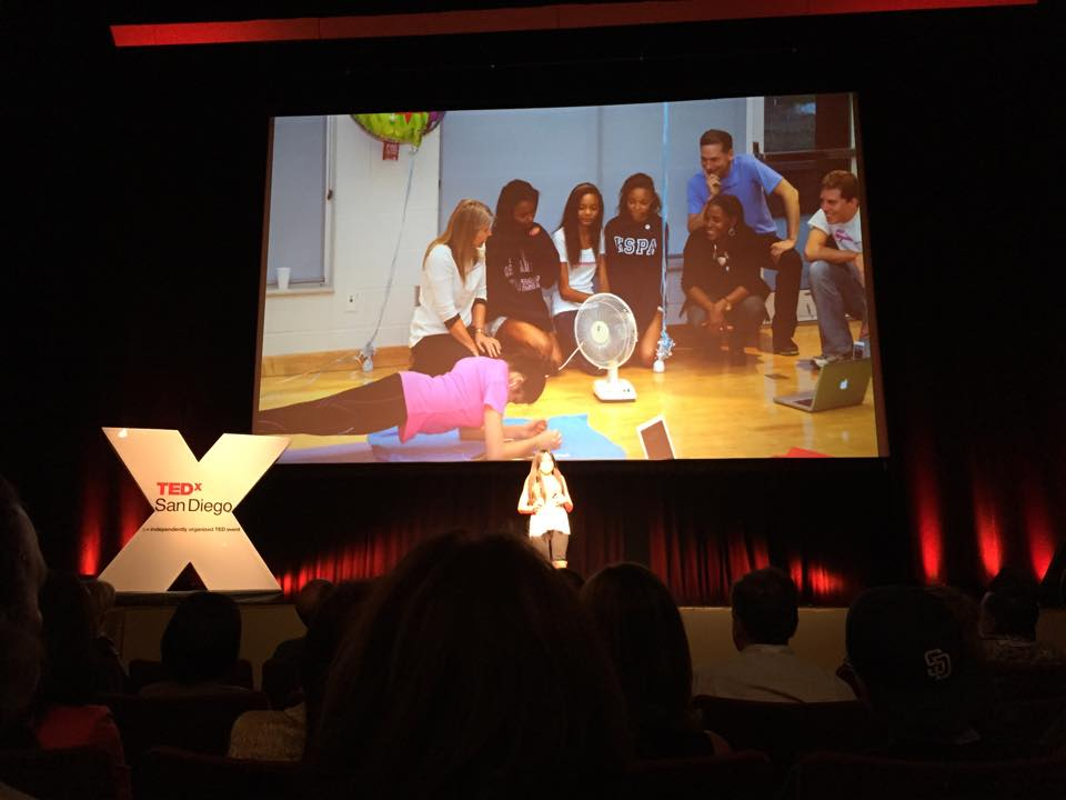 Gabi's TED talk - attempt with family slide