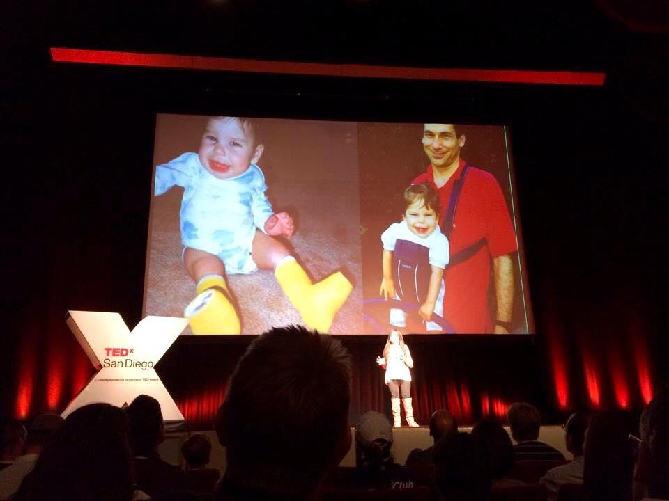 Gabi's TED talk - baby slide