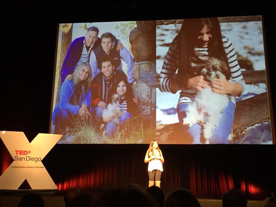 Gabi's TED talk - family slide