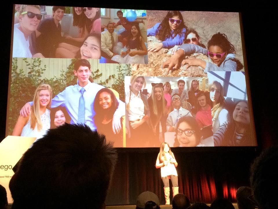 Gabi's TED talk - friends slide