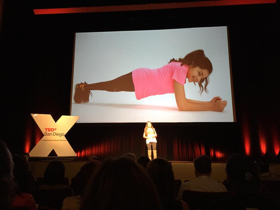 Gabi's TED talk - planking slide 1