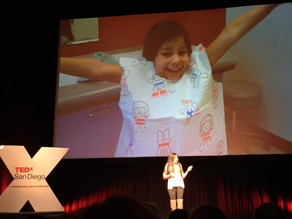 Gabi's TED talk - post op slide
