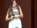 Gabi's TED talk - Gabi live on screen