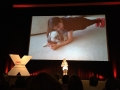 Gabi's TED talk - planking with Mia