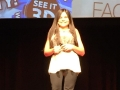 Gabi's TED talk - smiling