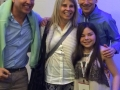 Gabi's TED talk - with parents and uncle after