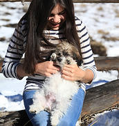 With Mia
